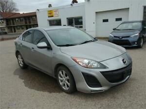 2011 Mazda 3 | One Owner |  Leather | Sunroof | Heated Seats |