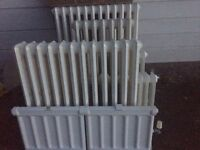 Beautiful Victorian style cast iron radiators, all very good working condition