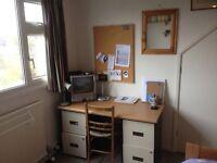 Quiet furnished study bedroom. Suit international postgrad.