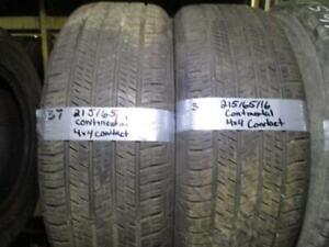 215/65R16 CONTINENTAL 4X4 CONTACT