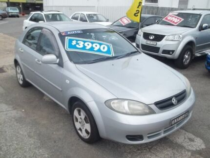2005 Holden Viva JF Silver 4 Speed Automatic Hatchback
