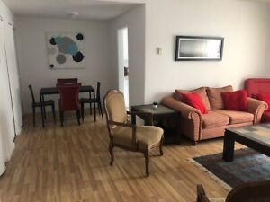 3 1/2   fully furnished  & all included-Vocational rental -