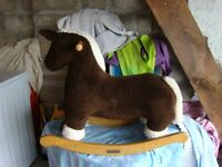 mamas & papas baby /toddler rocking horse ideal christmas present