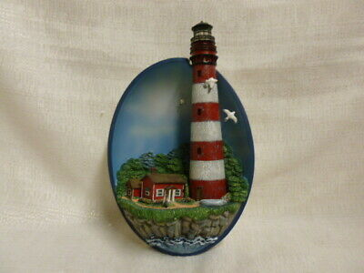 Seaside Retreat Bradford Exchange Keepers of the Shore Limited Edition 3D Plate