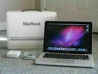 Apple MacBook 13' Core 2 Duo 2Ghz 4GB 500GB HDD Logic Pro X Omnisphere iZoTope Ableton Cubase