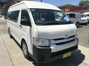 2018 Toyota HiAce KDH223R MY16 Commuter (12 Seats) White 4 Speed Automatic Bus Rockdale Rockdale Area Preview
