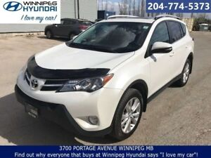 2015 Toyota Rav4 Limited AWD No Accidents Leather Sunroof