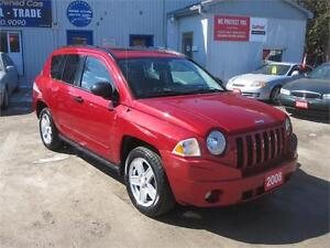 2008 Jeep Compass Sport|MUST SEE| 4X4 | SUNROOF | ALLOY RIMS