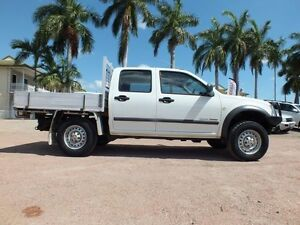 2005 Holden Rodeo RA MY05.5 LX Crew Cab White 5 Speed Manual Cab Chassis Rosslea Townsville City Preview