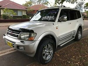 2001 Mitsubishi Pajero NM Exceed White 5 Speed Sports Automatic Wagon Croydon Burwood Area Preview