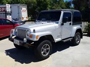2006 Jeep Wrangler TJ MY2006 Renegade Silver 4 Speed Automatic Softtop St James Victoria Park Area Preview