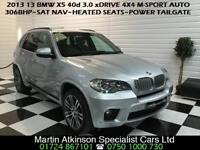 2013 13 BMW X5 3.0 40d xDrive 4X4 M-Sport 306BHP Automatic