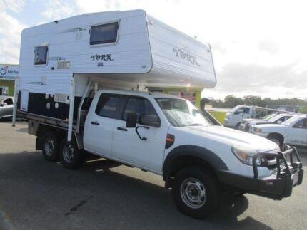 2010 PK SLIDE ON CAMPER Ford Ranger White Motor Camper Kedron Brisbane North East Preview