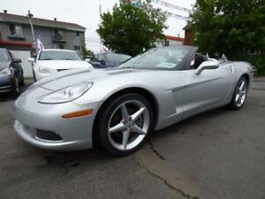 2012 CHEVROLET CORVETTE 1LT CONVERTIBLE (AUTOMATIQUE, 66,000 KM)