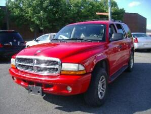 2003 Dodge Durango SLT Plus 7 PASSAGERS 4X4