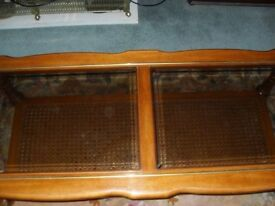 Wooden Coffee Table, Oak Colour,