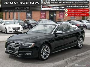 2013 Audi S5 3.0T Accident Free! MAINTAINED!