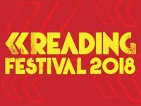 reading festival early bird ticket 2018.weekend ticket not included