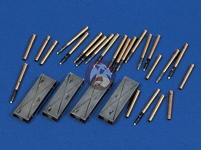 Verlinden 1/35 German 75mm PaK 40 Ammo Shells Cartridges Ammo Cases WWII 577