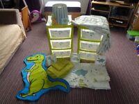 Young Boy Dinosaur Bedroom Set