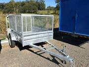 8 x 5 x 400 high hot dipped galvanised trailer Forest Glen Maroochydore Area Preview