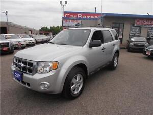 2011 Ford Escape XLT 4 CYLINDER 4X4 LOADED EASY FINANCE