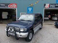 MITSUBISHI SHOGUN 3.5 V6 24V LWB 5d AUTO 192 BHP 7 seater auto (blue) 2001