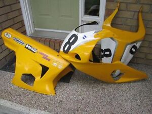 GSXR Race fairings - Complete w/ upper, lower and tail