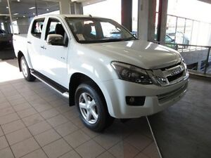 2015 Isuzu D-MAX TF MY15 LS-U HI-Ride (4x4) Splash White 5 Speed Automatic Dual Cab Thornleigh Hornsby Area Preview