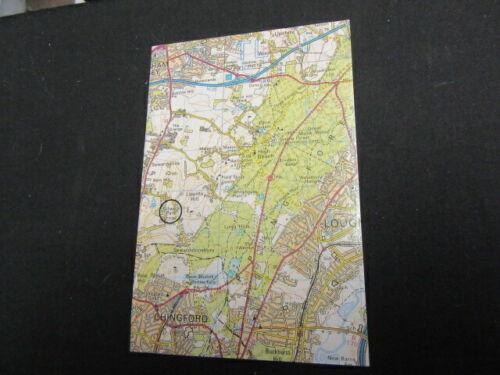 Gilwell Park on London Map Postcard   c85