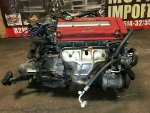 JDM HONDA B16B 1.6L CIVIC TYPE-R EK9 MOTOR WITH MT LSD TRANSMISSION 1998+ FOR SALE
