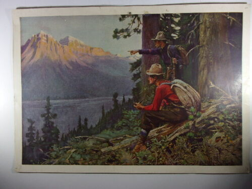 Collection of 8 original early Lithographs of Phillip Goodwin Art Prints