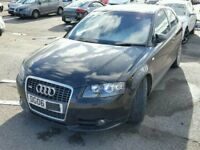 2006 AUDI A3 S LINE 2.0 TDI QUATTRO VERY LOW MILES DAMAGED UNRECORDED