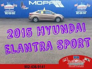 2015 Hyundai Elantra Sport Appearance SUNROOF HEATED SEATS