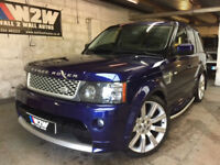 Range Rover Sport 3.0TD V6 auto 2009/59 AUTOBIOGRAPHY BALI BLUE,ALMOND LEATHER