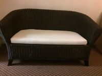 4 piece dark wicker furniture