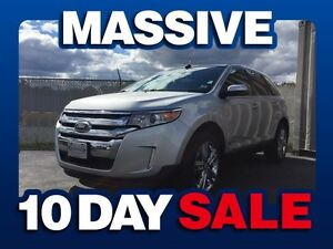 2013 Ford Edge LIMITED AWD ( MASSIVE 10 DAY SALE! )