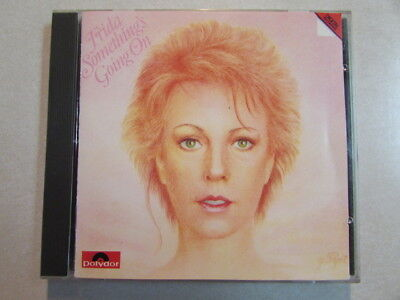FRIDA SOMETHING'S GOING ON ORIGINAL RED LABEL WEST GERMAN CD 800 102-2 ABBA OOP