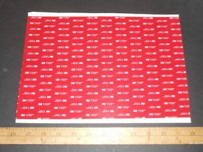 3m 5915 Black Vhb .016double Stick Foam Tape Sheet 8 X 12