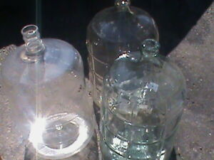 THREE LARGE CARBOY'S