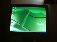 QUALITY PACKARD BELL LCD SCREEN in VGC and 'CLEAN' MANUFACTURED BY NEC COMPUTERS --Two tone: grey...