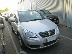 2013 Suzuki SX4 GYA MY13 Crossover Silver Constant Variable Hatchback Moorabbin Kingston Area Preview