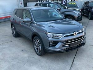 2019 Ssangyong Korando Ultimate LE Platinum Grey 6 Speed Automatic Wagon Hendra Brisbane North East Preview