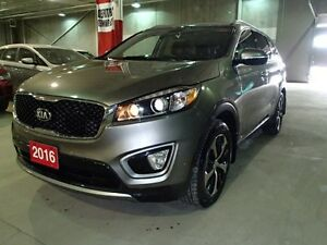 2016 Kia Sorento EX-Turbo Leather AWD