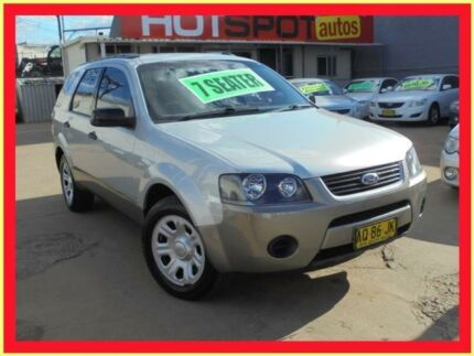 2007 Ford Territory SY TX (RWD) Silver 6 Speed Auto Sequential Wagon Holroyd Parramatta Area Preview