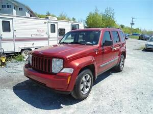 GREAT DEAL! 2008 JEEP LIBERTY 4X4 !!! , NEW BRAKES ! NEW MVI !