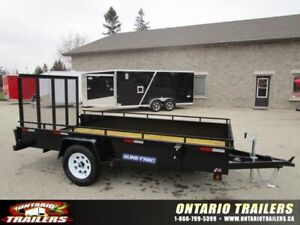 *SALE* SURE-TRAC 6'X12' STEEL HIGH SIDE TRAILER