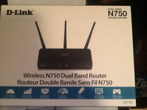 DLink N750 Dual Band Router Brank New