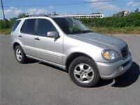 2003 Mercedes-Benz ML350,1 OWNER,NAVY,4 NEW WINT TIRES,LOW KILO