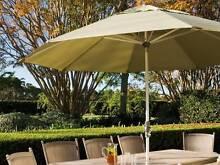 Fairlight Collar Tilt Umbrella in Sage by Shelta -Great Condition Singleton Singleton Area Preview